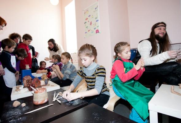 Детский мастер-класс наоткрытии пространства «Ткачей» - Фото №2
