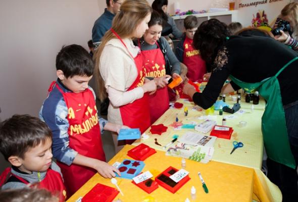 Детский мастер-класс наоткрытии пространства «Ткачей» - Фото №3