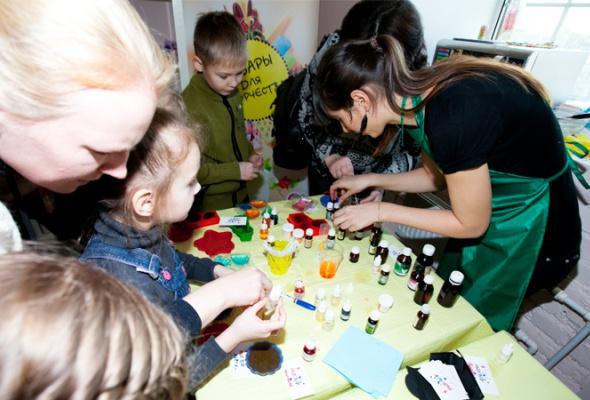Детский мастер-класс наоткрытии пространства «Ткачей» - Фото №5