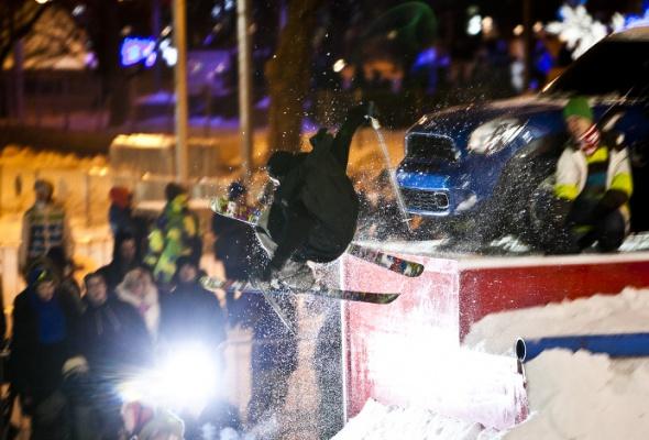 ВПарке Горького открылась сноубордическая площадка для начинающих - Фото №4