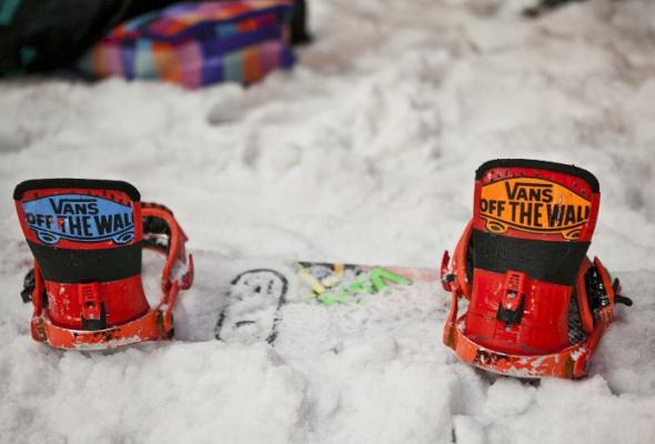 ВПарке Горького открылась сноубордическая площадка для начинающих - Фото №5