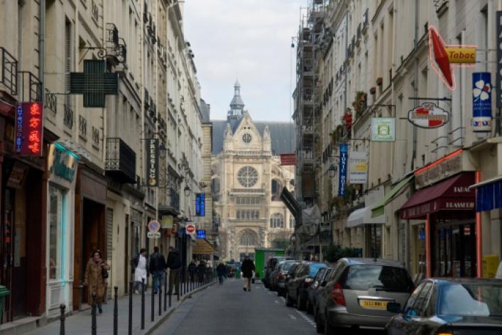 Предрождественский Париж