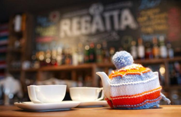 Предновогодний ужин вRegatta