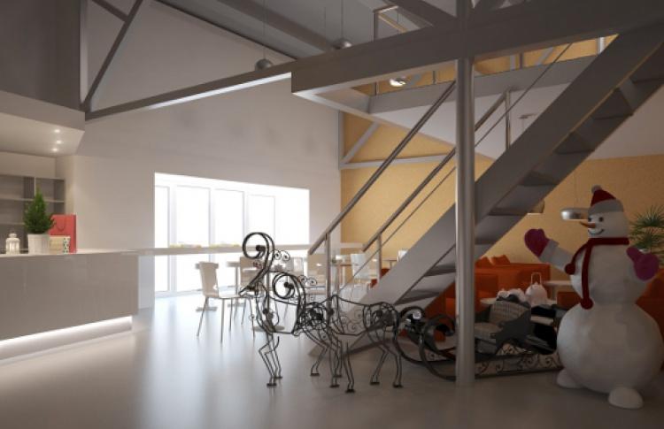 Вновом коворкинг-центре откроется хостел