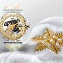 УSwatch появилась рождественская модель часов
