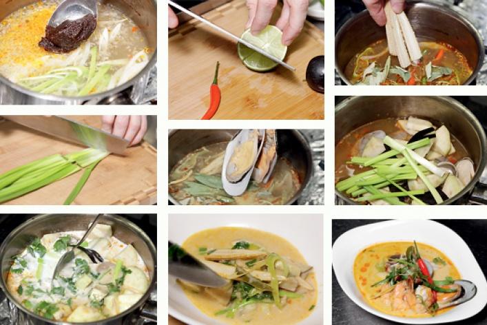 Рецепт: Суп том-ям
