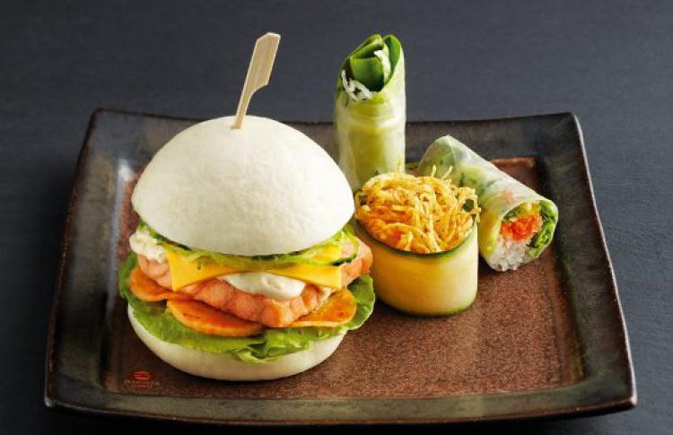 Бургер по-японски