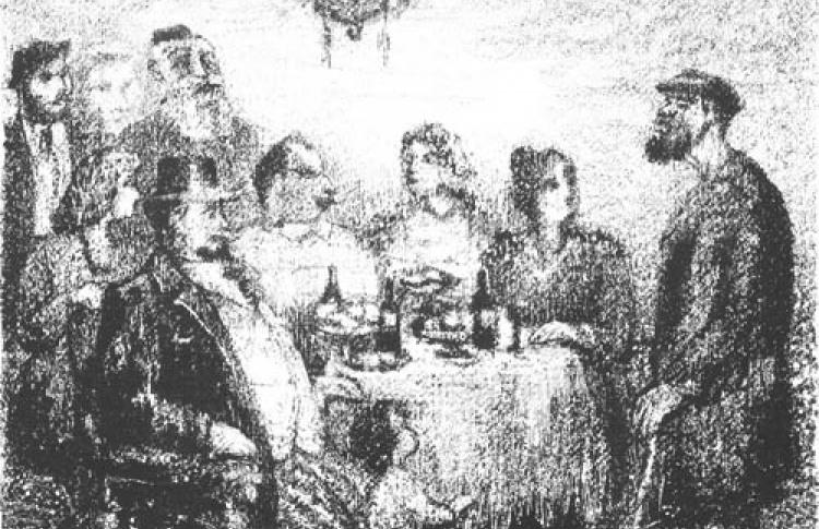 Презентация книги Шолом-Алейхема с иллюстрациями Анатолия Каплана