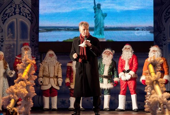 Духовой оркестр снеговиков наРождественской Ярмарке - Фото №4