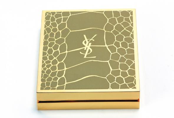 Матовые текстуры иоттенки хаки вмакияже Yves Saint Laurent - Фото №1