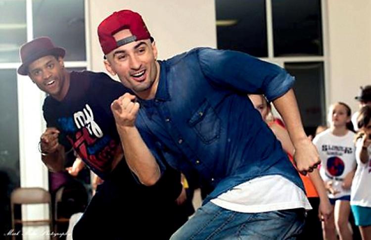 Мастер-классы по хип-хопу в танцевальной студии D-Fusion