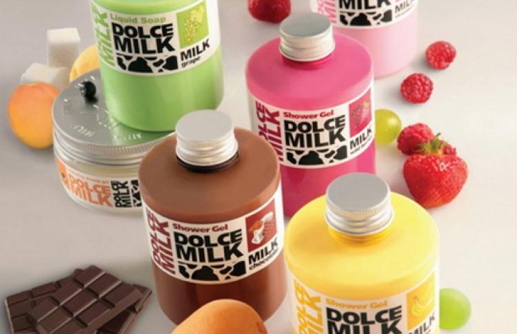 Скидка 50% на продукты для душа Dolce Milk