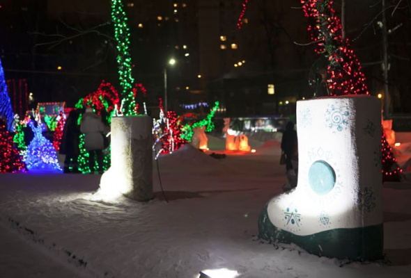 Зима вМоскве: фотопрогулка - Фото №9