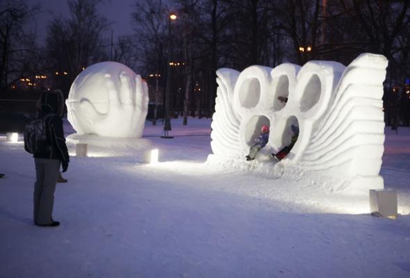 Зима вМоскве: фотопрогулка - Фото №11