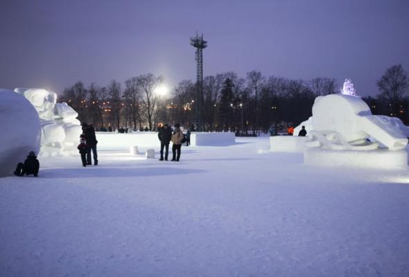 Зима вМоскве: фотопрогулка - Фото №12