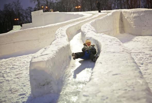 Зима вМоскве: фотопрогулка - Фото №13