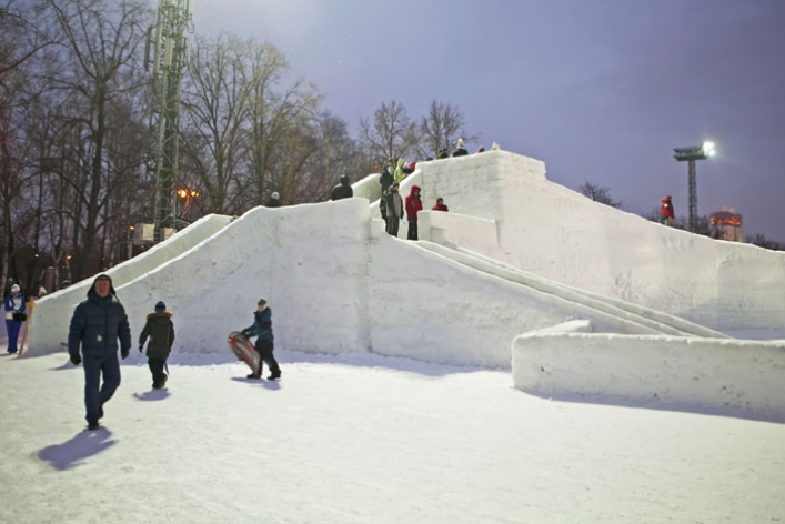 Зима вМоскве: фотопрогулка
