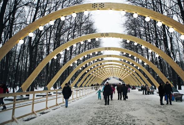 Зима вМоскве: фотопрогулка - Фото №16