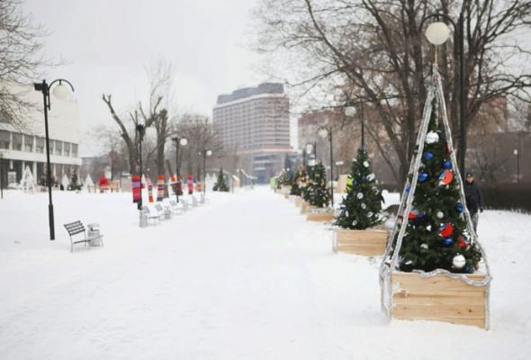 Зима вМоскве: фотопрогулка - Фото №23