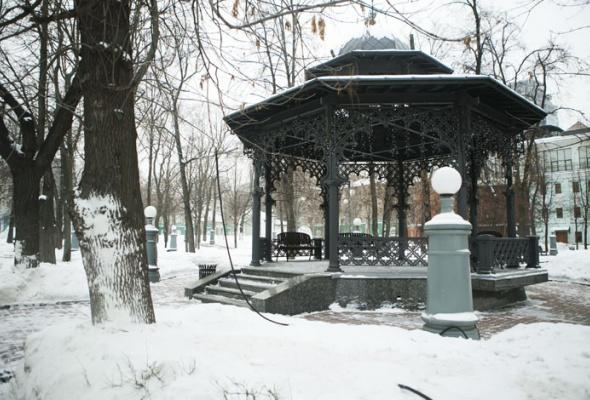 Зима вМоскве: фотопрогулка - Фото №26