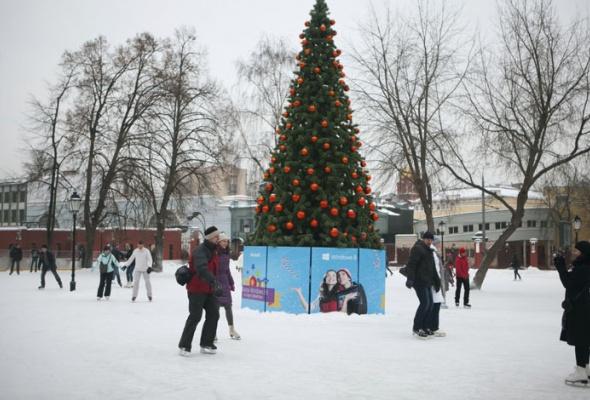 Зима вМоскве: фотопрогулка - Фото №27