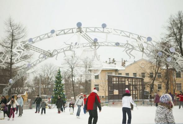 Зима вМоскве: фотопрогулка - Фото №28