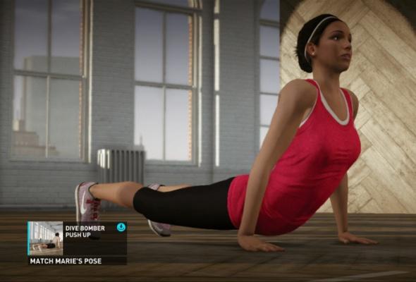 Фитнес скомпьютерным тренером изпрограммы Nike + Kinect Training - Фото №0