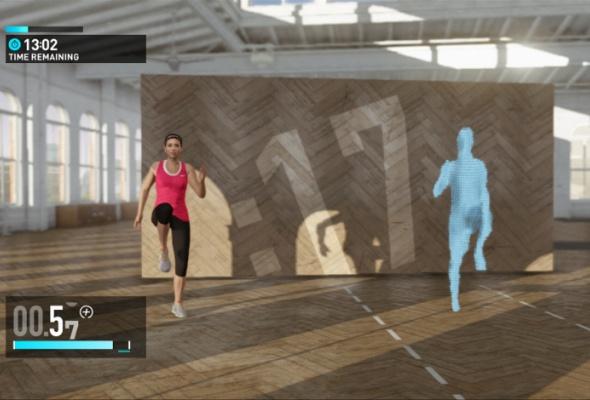 Фитнес скомпьютерным тренером изпрограммы Nike + Kinect Training - Фото №2