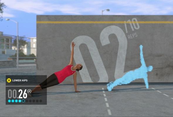 Фитнес скомпьютерным тренером изпрограммы Nike + Kinect Training - Фото №3