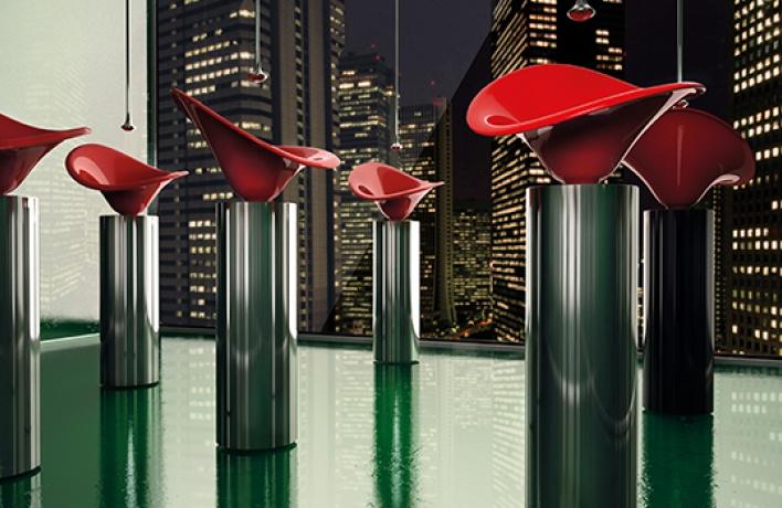 Раковины-калы отGlass Design