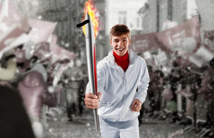 Coca-Cola. Пронеси Олимпийский огонь. Вливайся!