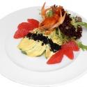 Рецепт: Крабовый коктейль «Камчатка» савокадо ираками