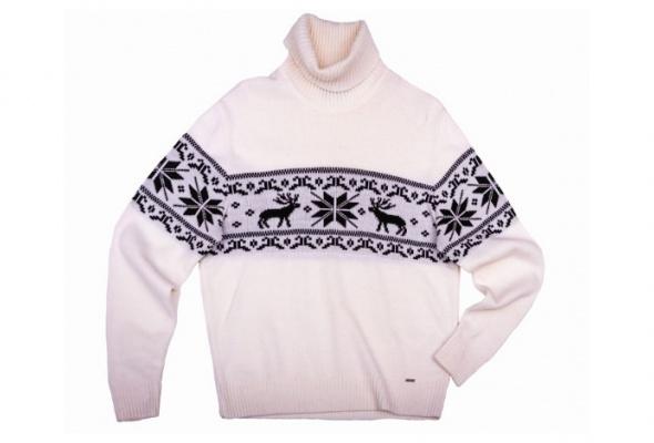 10лучших мужских свитеров сорнаментом - Фото №10