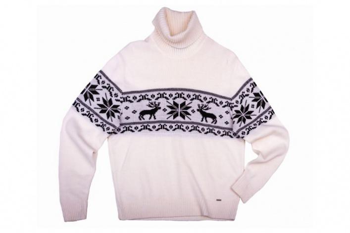 10лучших мужских свитеров сорнаментом