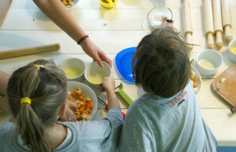 Семейный мастер-класс в LavkaLavka