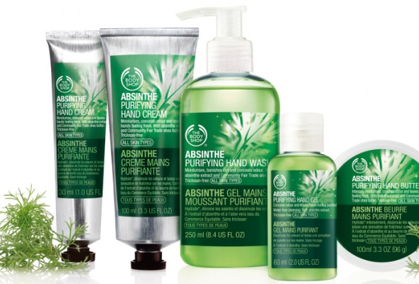 The Body Shop выпустил абсентовые кремы для рук - Фото №0