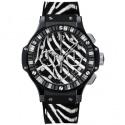 Hublot создал женские часы спринтом зебры