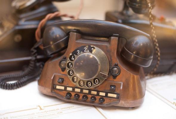 Выставка старинных телефонов - Фото №1