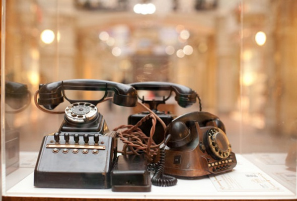Выставка старинных телефонов - Фото №0