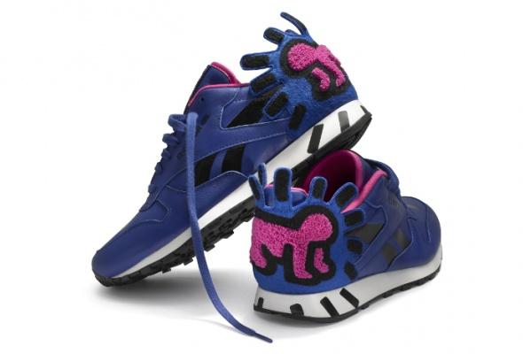 Reebok представил коллекцию кроссовок спринтами Кита Харинга - Фото №1