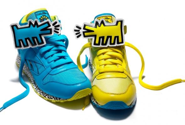 Reebok представил коллекцию кроссовок спринтами Кита Харинга - Фото №0