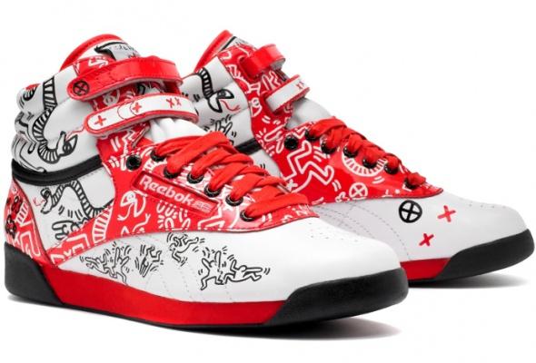 Reebok представил коллекцию кроссовок спринтами Кита Харинга - Фото №2