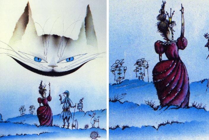 9лучших иллюстраторов «Алисы встране чудес»