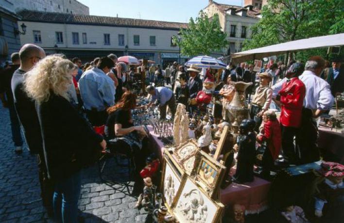 Вцентре города появятся блошиные рынки