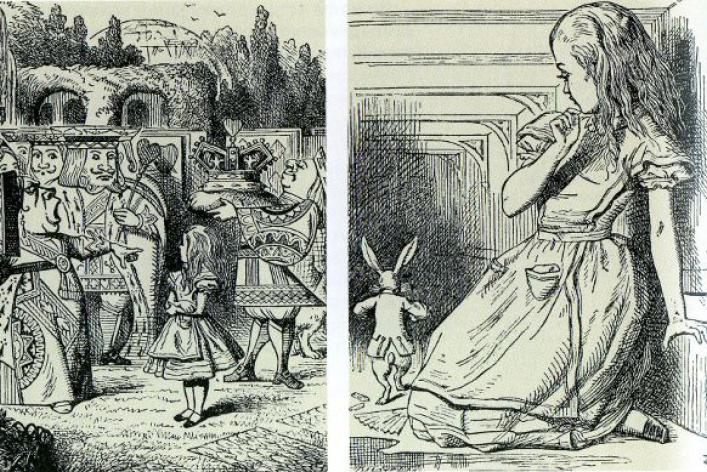 «Алиса встране чудес»: лучшие иллюстрации