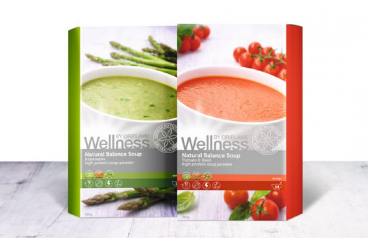 Oriflame осваивает сферу wellness-питания