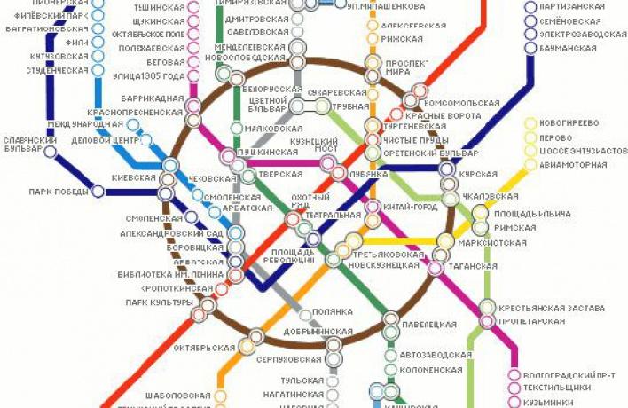 Москвичам предложили проголосовать зановую схему метро