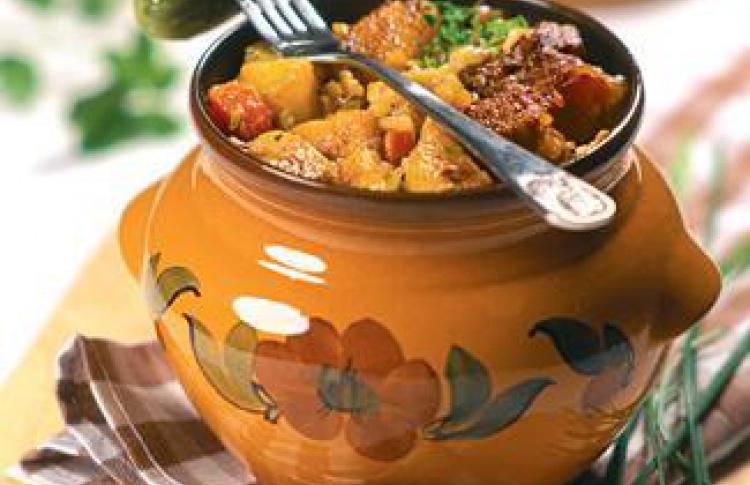 Старинные блюда вресторане ''Наздоровье''