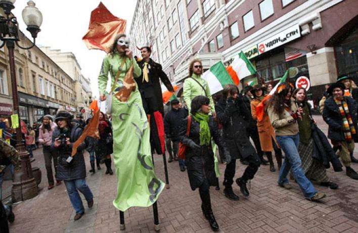 Московское правительство собирается запретить массовые гуляния наАрбате