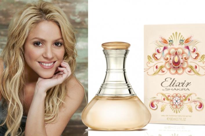 Шакира выпустила свой третий аромат— Elixir byShakira